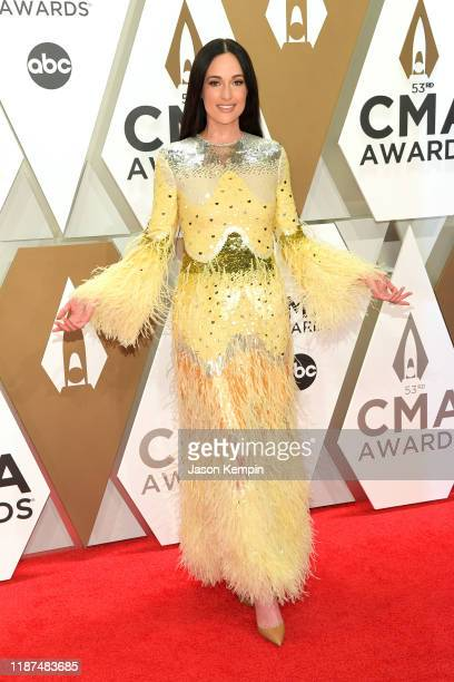 Kacey Musgraves attends the 53rd annual CMA Awards at the Music City Center on November 13 2019 in Nashville Tennessee