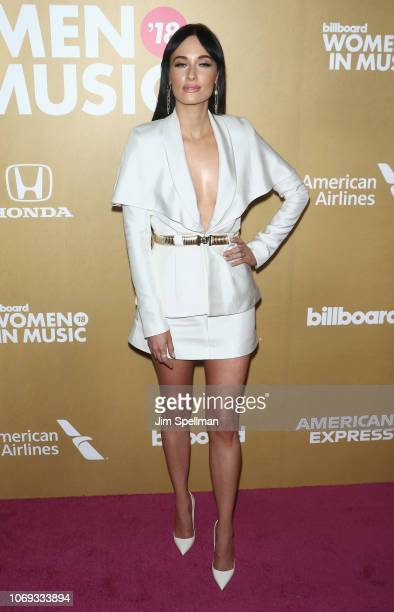 Kacey Musgraves attends the Billboard's 13th Annual Women in Music event at Pier 36 on December 6 2018 in New York City