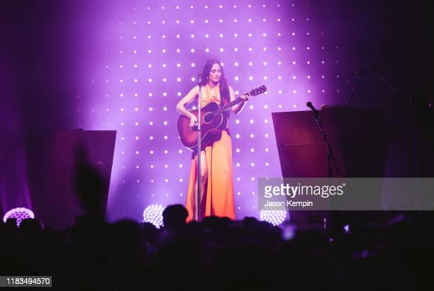 Kacey Musgraves performs at Bridgestone Arena on October 25 2019 in Nashville Tennessee