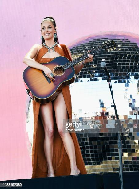 Kacey Musgraves performs at Coachella Stage during the 2019 Coachella Valley Music And Arts Festival on April 19 2019 in Indio California