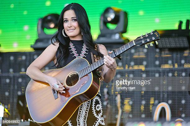 Kacey Musgraves performs at the 2016 Windy City LakeShake Festival at FirstMerit Bank Pavilion at Northerly Island on June 17 2016 in Chicago Illinois