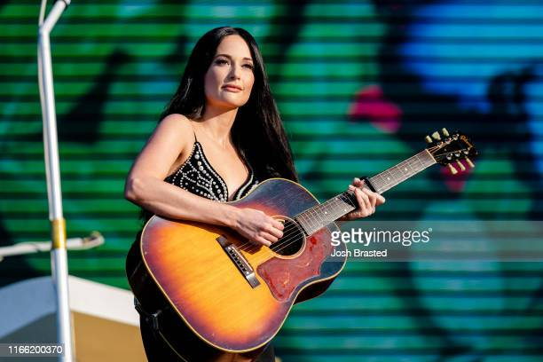 Kacey Musgraves performs at the Lollapalooza Music Festival at Grant Park on August 04 2019 in Chicago Illinois