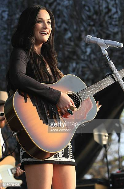 Kasey Musgraves performs at The Spotify House SXSW 2016 on March 16 2016 in Austin Texas
