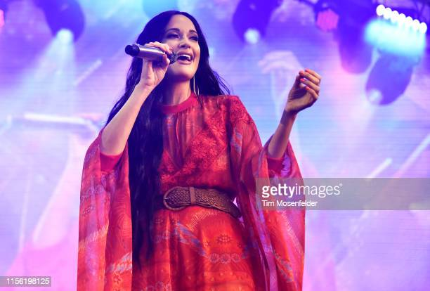 Kacey Musgraves performs during the 2019 Bonnaroo Music Arts Festival on June 15 2019 in Manchester Tennessee