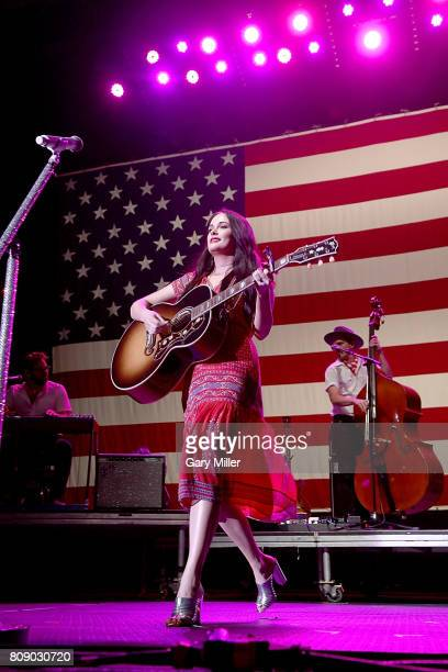 Kacey Musgraves performs in concert during the annual Willie Nelson 4th of July Picnic at the Austin360 Amphitheater on July 4, 2017 in Austin, Texas.