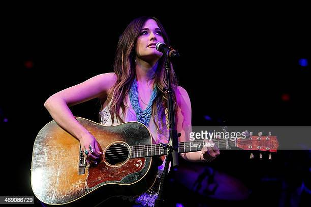 Kacey Musgraves performs in concert during the San Antonio Stock Show And Rodeo at the AT&T Center on February 12, 2014 in San Antonio, Texas.