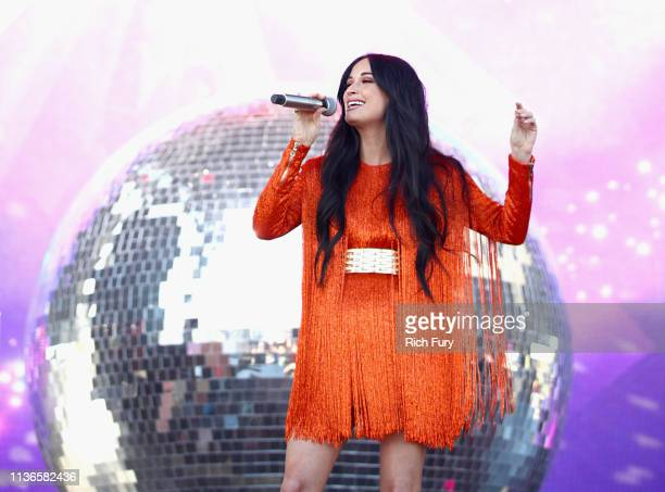 Kacey Musgraves performs on Coachella Stage during the 2019 Coachella Valley Music And Arts Festival on April 12 2019 in Indio California