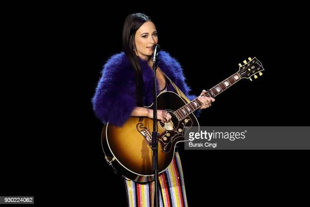 Kacey Musgraves performs on day 2 of C2C Country to Country festival at The O2 Arena on March 10 2018 in London England
