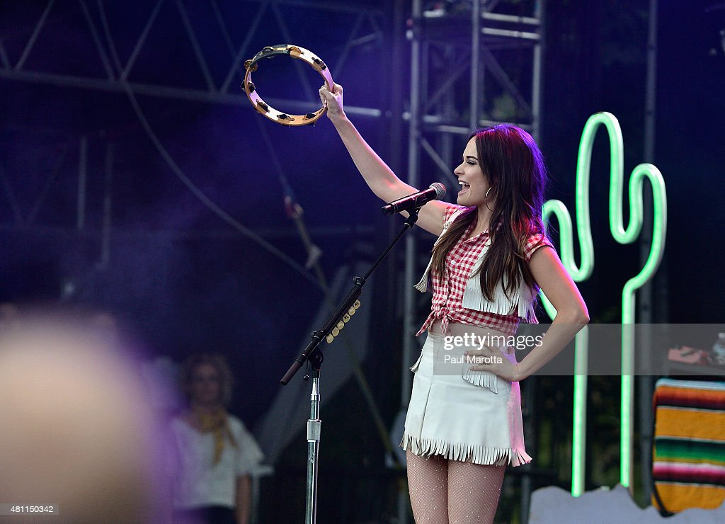Kacey Musgraves performs on day 4 of the Outside the Box Festival Boston at Boston Common on July 17, 2015 in Boston, Massachusetts.