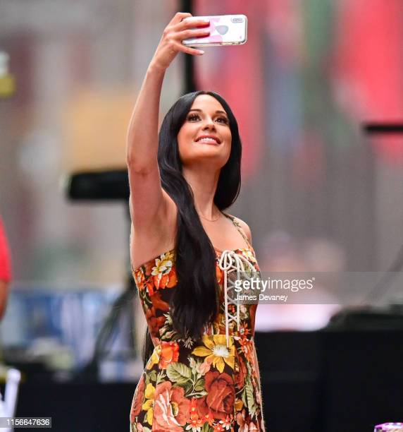 Kacey Musgraves performs on NBC's 'Today' show at Rockefeller Center on July 19 2019 in New York City
