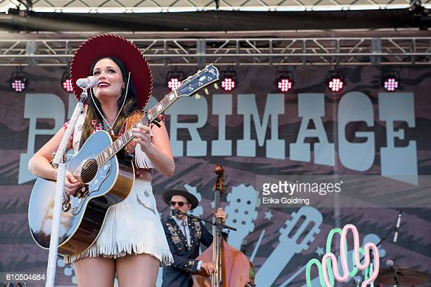 Kacey Musgraves performs on September 25 2016 in Franklin Tennessee
