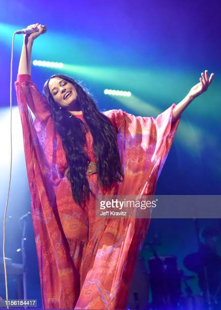 Kacey Musgraves performs on Which Stage during the 2019 Bonnaroo Arts And Music Festival on June 15, 2019 in Manchester, Tennessee.