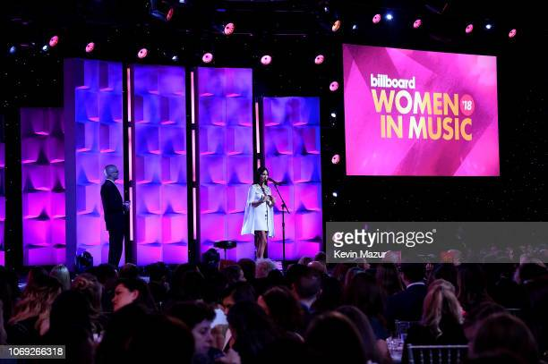 Kacey Musgraves performs onstage at Billboard Women In Music 2018 on December 6 2018 in New York City