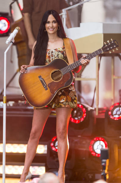 """NY: Kacey Musgraves Performs On NBC's """"Today"""""""