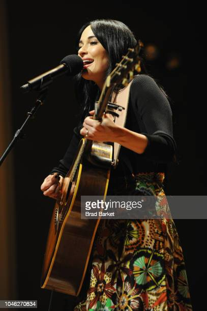 Kacey Musgraves performs onstage during the 2018 New Yorker Festival on October 5 2018 in Brooklyn New York