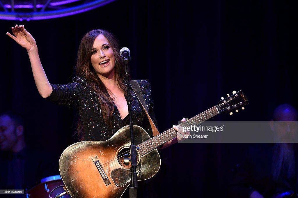 Kacey Musgraves performs onstage during the 9th Annual ACM Honors at the Ryman Auditorium on September 1, 2015 in Nashville, Tennessee.