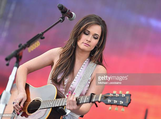 Kacey Musgraves performs onstage during the Capital One JamFest at the NCAA March Madness Music Festival Day 3 at White River State Park on April 5...