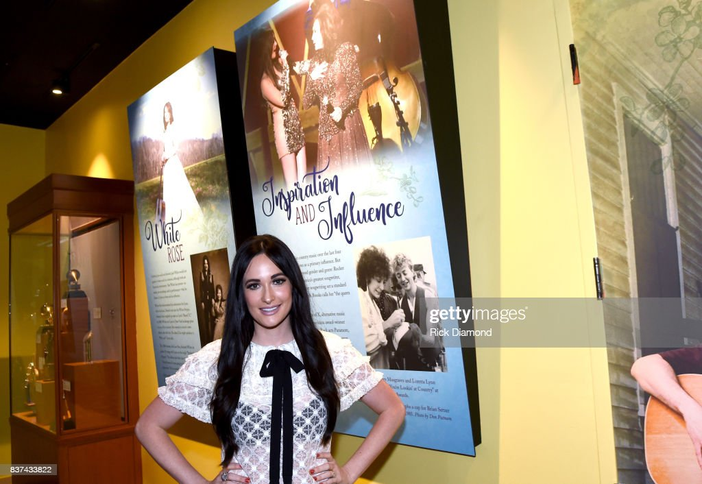 Blue Kentucky Girl exhibit at the Country Music Hall of Fame and Museum on August 22, 2017 in Nashville, Tennessee.