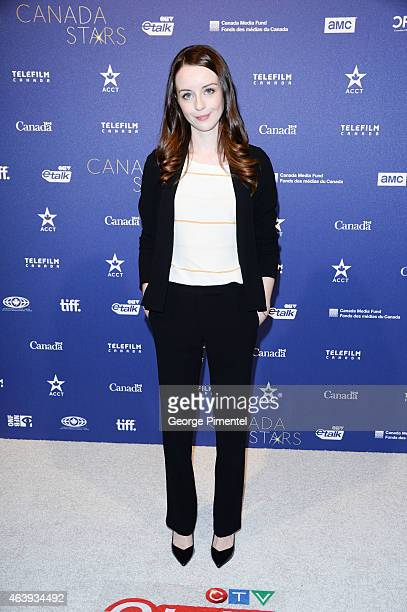 Kacey Rohl attends the Telefilm Canada Oscar Week Gala held at The Four Seasons Hotel on February 19 2015 in Beverly Hills California