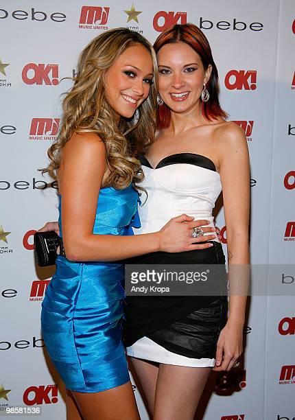 Kaci Battaglia and Tina Parol attend OK Magazine�s 2010 Sexy Singles Event at Juliet Supper Club on April 20 2010 in New York City