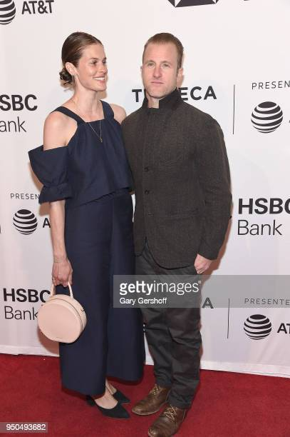 Kacy Byxbee and actor Scott Caan attend the screening of 'Untogether' during the 2018 Tribeca Film Festival at SVA Theater on April 23 2018 in New...