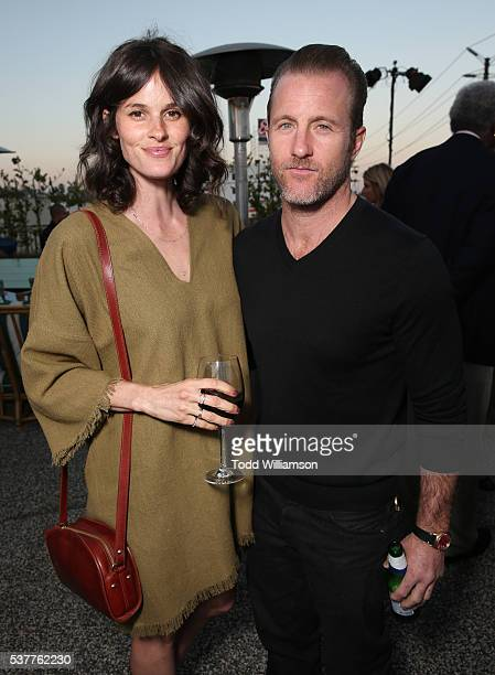 Kacy Byxbee and Scott Caan attend the 4th Annual CBS Television Studios Summer Soiree at Palihouse on June 2 2016 in West Hollywood California