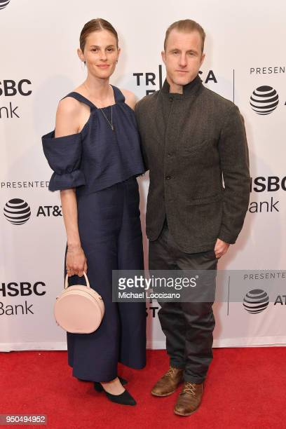 Kacy Byxbee and Scott Caan attend the screening of Untogether during the 2018 Tribeca Film Festival at SVA Theatre on April 23 2018 in New York City
