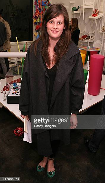 Kacy Byxbee attends the Ten Over Six fall preview and cocktail party at Ten Over Six on March 20 2009 in West Hollywood California