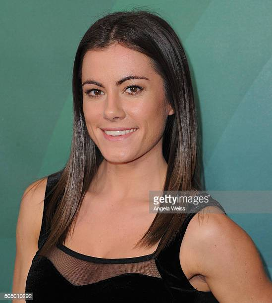 Kacy Catanzaro arrives at the 2016 Winter TCA Tour NBCUniversal Press Tour Day 2 at Langham Hotel on January 14 2016 in Pasadena California