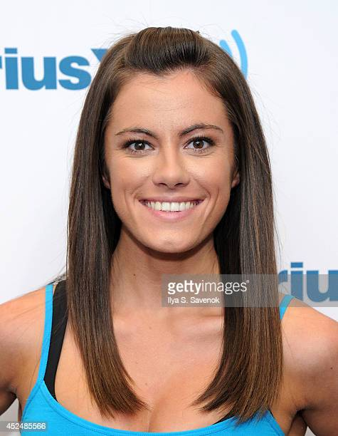 Kacy Catanzaro visits the SiriusXM Studios on July 21 2014 in New York City