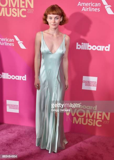 Kacy Hill arrives at the Billboard Women In Music 2017 at The Ray Dolby Ballroom at Hollywood Highland Center on November 30 2017 in Hollywood...