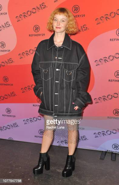 Kacy Hill attends Refinery29's 29Rooms Los Angeles 2018 Expand Your Reality at The Reef on December 04 2018 in Los Angeles California