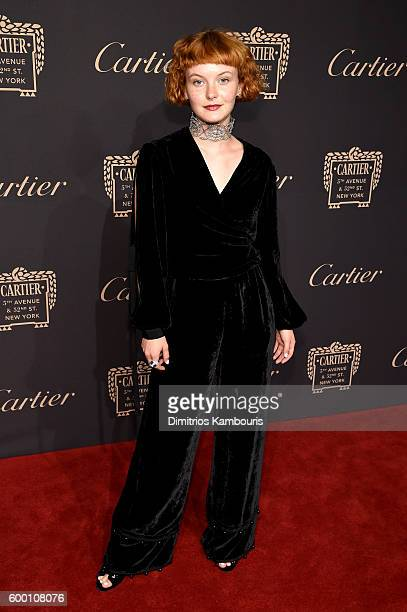 Kacy Hill attends the Cartier Fifth Avenue Grand Reopening Event at the Cartier Mansion on September 7 2016 in New York City