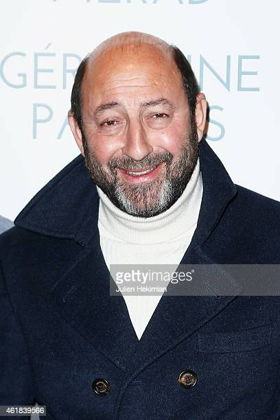 Kad Merad attends 'Disparue En Hiver' Paris Premiere at UGC Cine Cite Bercy on January 20 2015 in Paris France