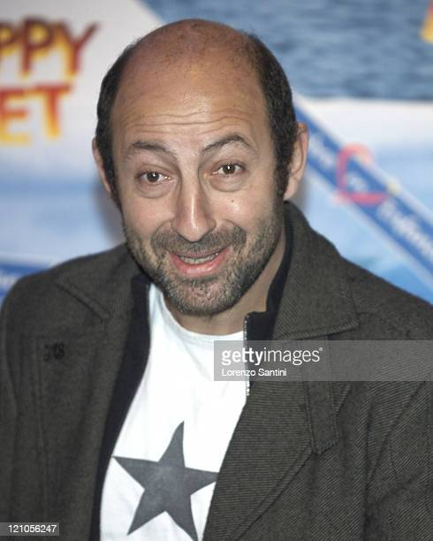 Kad Merad during Happy Feet Paris Photocall in Paris France