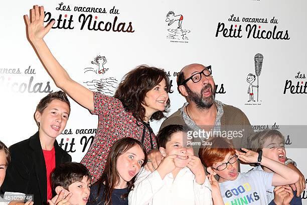 Kad MeradValerie Lemercier attend the premiere of 'les Vacances Du Petit Nicolas' at Cinema Gaumont Capucine on June 22 2014 in Paris France