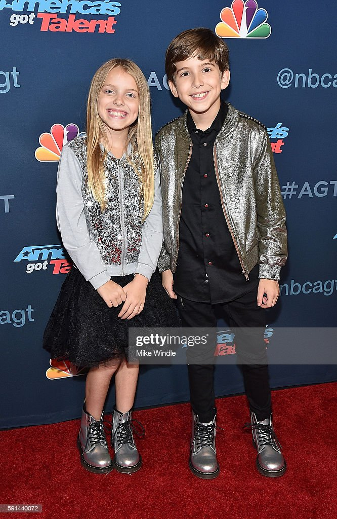 Kadan Bart Rockett attends the 'America's Got Talent' Season 11 Live Show at Dolby Theatre on August 23, 2016 in Hollywood, California.