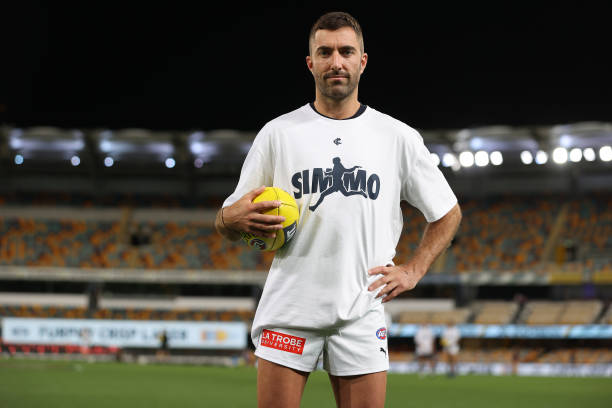 AUS: AFL Rd 18 - Brisbane v Carlton