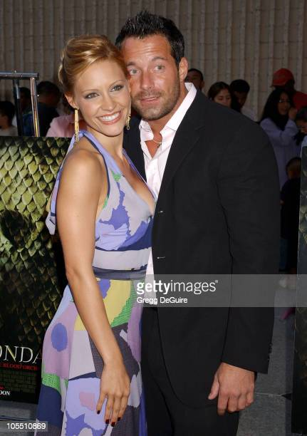 Kadee Strickland and Johnny Messner during Anacondas The Hunt For The Blood Orchid Los Angeles Screening at Avco Cinema in Westwood California United...