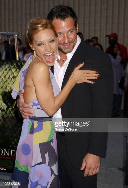 Kadee Strickland and Johnny Messner during 'Anacondas The Hunt For The Blood Orchid' Los Angeles Screening at Avco Cinema in Westwood California...