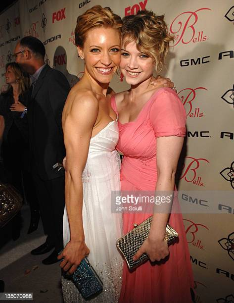 KaDee Strickland and Sarah Jones during GMC the Official Sponsor of FOX's The Wedding Bells Premiere Party at Wilshire Ebel Theatre in Los Angeles...