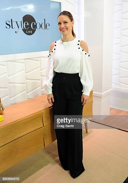 KaDee Strickland appears on Amazon's Style Code Live on January 4 2017 in New York City