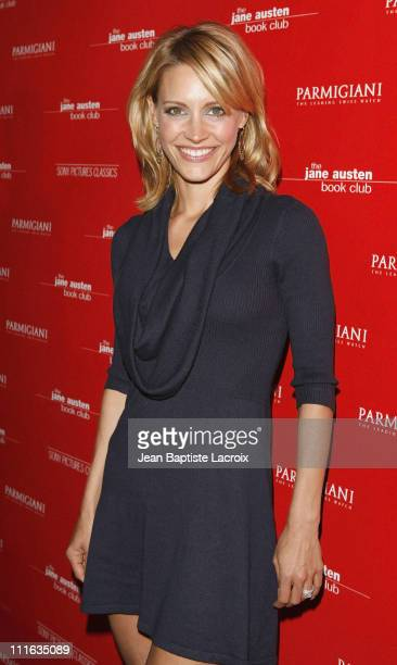 KaDee Strickland arrives at The Jane Austen Book Club Premiere at the Arclight Theater on September 20 2007 in Hollywood California