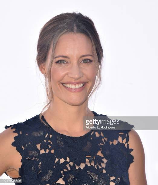 KaDee Strickland attends The Rape Foundation's Annual Brunch on October 7 2018 in Beverly Hills California