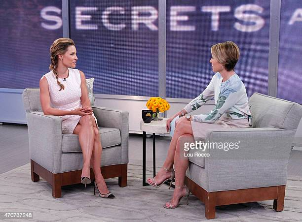AMERICA KaDee Strickland of ABC's 'Secrets and Lies' is a guest on 'Good Morning America' 4/22/15 airing on the ABC Television Network