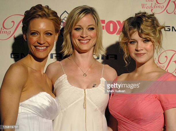 KaDee Strickland Teri Polo and Sarah Jones during FOX's The Wedding Bells Premiere Party Arrivals at The Wilshire Ebell Theatre in Los Angeles...