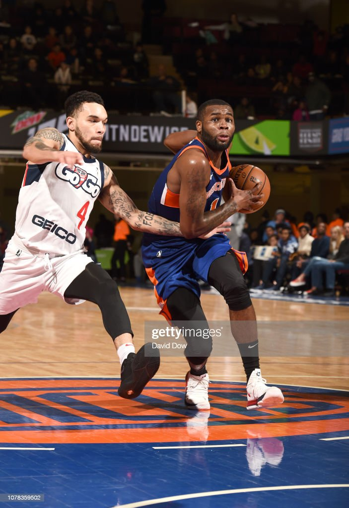 Capital City Go Go v Westchester Knicks : News Photo