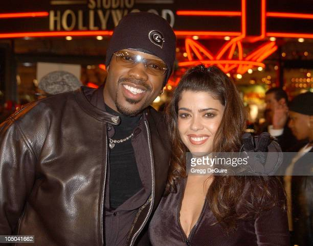 Kadeem Hardison and Darlene Tejeiro during Biker Boyz Premiere at Mann's Chinese Theatre in Hollywood California United States