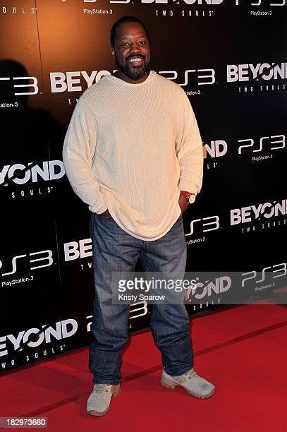 Kadeem Hardison attends the 'Beyond Two Souls' Paris Premiere at the Grand Rex on October 2 2013 in Paris France