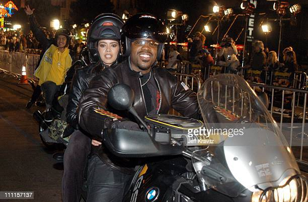 Kadeem Hardison during Dreamworks Pictures Biker Boyz at Manns Chinese Theater in Hollywood CA United States